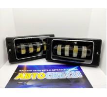 Фары противотуманные LED ВАЗ 2110-2115 40Вт 4 линзы ML