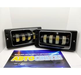 Фары противотуманные LED ВАЗ 2110-2115 ML 40Вт 4 линзы