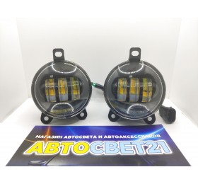Фары противотуманные LED Лада Приора / Газель (2-х режимные) ML