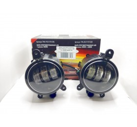 Фары противотуманные LED Лада Приора / Газель (2-х режимные) ML 50W