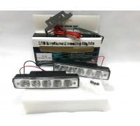 Дневные Ходовые Огни DRL 2х5 LED - 150*40*28мм