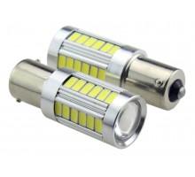 Лампа светодиодная P21W 33SMD Белая