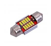 Лампа светодиодная c5w 10SMD 31mm с Обманкой
