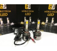 Светодиодные лампы C9S H1 Белый+Желтый 2 режима