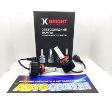 Светодиодные LED лампы X-Bright S2 H11/H8/H9/H16