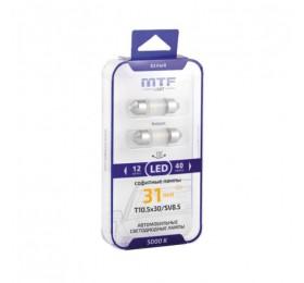 Лампы светодиодные LED c5w MTF 5000K 31mm / 36mm