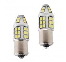 Лампа светодиодная P21W 40SMD Белая 12-24В