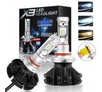 Светодиодные LED лампы X3 HB3 50W 6000Lm