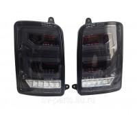 Тюнинг фонари задние LED светодиодные Нива / Нива Урбан Черные