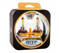 Автолампы Н8 MTF Aurum