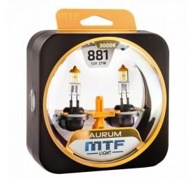 Автолампы Н27-1 (881) MTF Aurum
