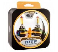 Автолампы НB3 MTF Aurum