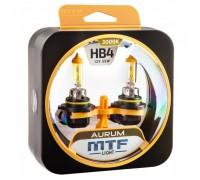 Автолампы НB4 MTF Aurum