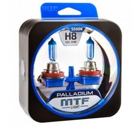 Автолампы Н8 MTF Palladium