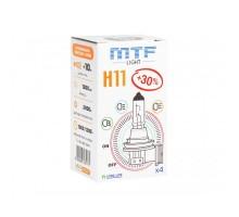 Автолампа Н11 MTF Standart +30%