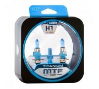 Автолампы Н1 MTF Titanium