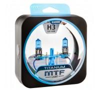 Автолампы Н3 MTF Titanium