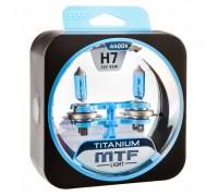 Автолампы Н7 MTF Titanium