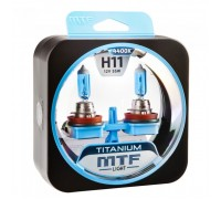Автолампы Н11 MTF Titanium