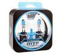 Автолампы H27 (880) MTF Titanium