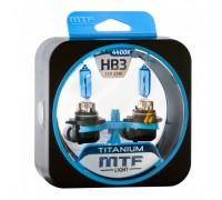 Автолампы HB3 MTF Titanium