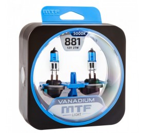 Автолампы Н27-1 (881) MTF Vanadium