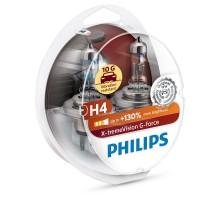 Автолампы H4 PHILIPS X-Treme Vision G-force +130%