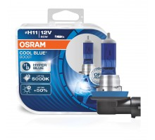 Автолампы H11 OSRAM Cool Blue Boost