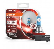 Автолампы H11 OSRAM Night Breaker Laser +150%