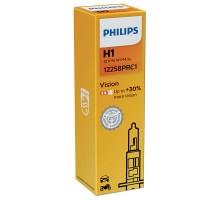 Автолампа H1 PHILIPS +30%
