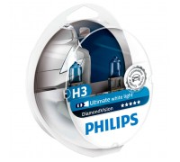 Автолампы H3 PHILIPS Diamond Vision 5000K