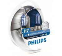 Автолампы H7 PHILIPS Diamond Vision 5000K