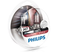 Автолампы H7 PHILIPS Vision Plus +60%