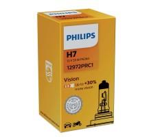 Автолампа H7 PHILIPS +30%