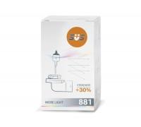 Автолампа H27 (881) SVS Standart +30%