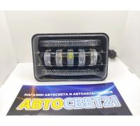Светодиодная Led фара с ровной СТГ 50W 12-24V многорежимная