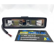 Светодиодная фара-прожектор 36W Flood Slim 10-30V