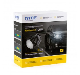 Светодиодные линзы Bi-Led MTF Night Assistant 5500K