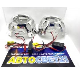 Маски для биксеноновых линз 3.0 дюйма Porsche Panamera стиль