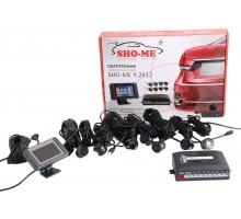 Парктроник Sho-Me 2612 8 датчиков с монитором Черный