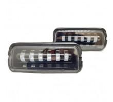 LED подфарники + бегущий поворотник Нива 4х4 / Нива Урбан 60W