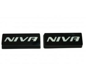 Шильдики / заглушки LED светящиеся NIVA (2шт.)