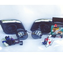 Полный набор / комплект LED противотуманных фар Lada Kalina2 / Лада Калина2