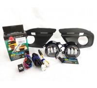 Полный набор / комплект LED противотуманных фар Lada Granta FL / Лада Гранта ФЛ