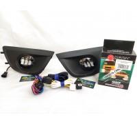 Полный набор / комплект LED противотуманных фар Lada Granta / Лада Гранта 2011-2018г.