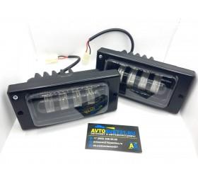 Фары противотуманные LED ВАЗ 2110-2115 40Вт 4 линзы SalMan