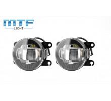 Фары противотуманные Renault / Рено MTF LED FL10W 5000K светодиодные