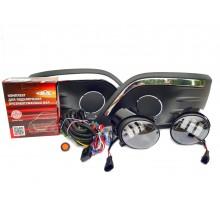 Полный набор / комплект LED противотуманных фар Salman Lada Largus / Лада Ларгус 2012 - 2020г