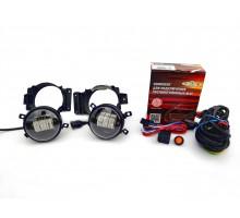 Полный комплект набор LED противотуманных фар 30W на Ford Transit, Форд Транзит 2006-2013