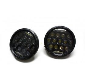 Фары LED светодиодные Нива / Нива Урбан / УАЗ с 13 LED + ДХО